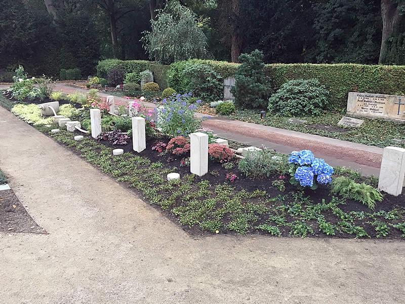 Garten der Erinnerung - Bereich für dauergepflegte, gemeinschaftliche Ruhestätten