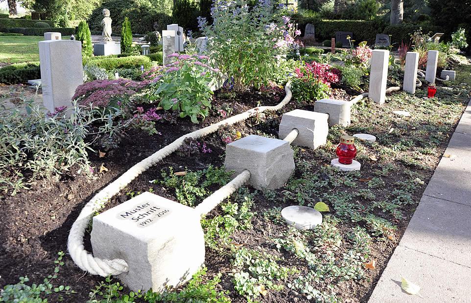 Garten der Erinnerung - Neue Art der Bestattung - Friedhofsgärtnerei Antonius Brinkmann Oelde