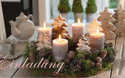 Gemütliche Adventzeit zu Hause